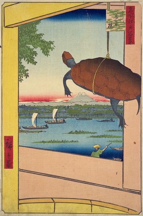 江戸名所百景「深川万年橋」
