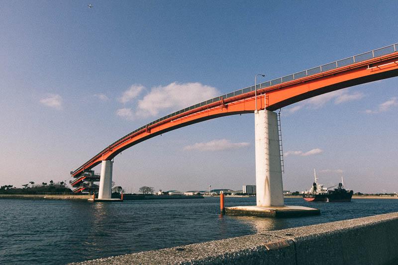 木更津港にかかる橋