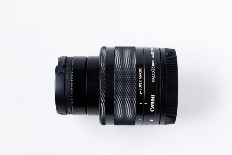 EF-M 28mmマクロレンズ