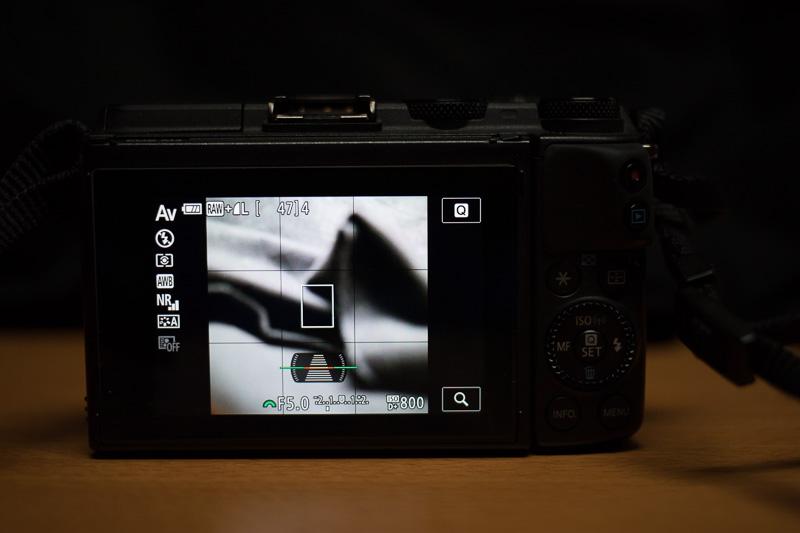 EOS M3 スクエアフォーマット