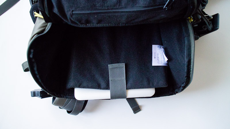 アイガーグレッチャー 33 MacBookAir11inch収納