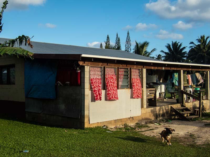 バックロード、ラロトンガ島、クック諸島
