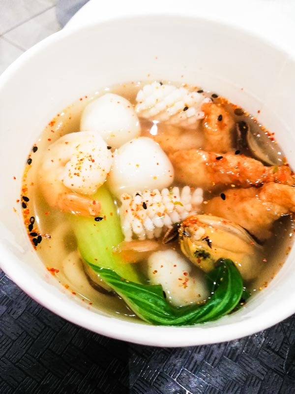 Seafood Udon Sushi BAR Hayama in Auckland Airport