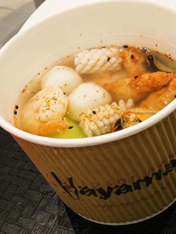 Seafood Udon Sushi Bar Hayama