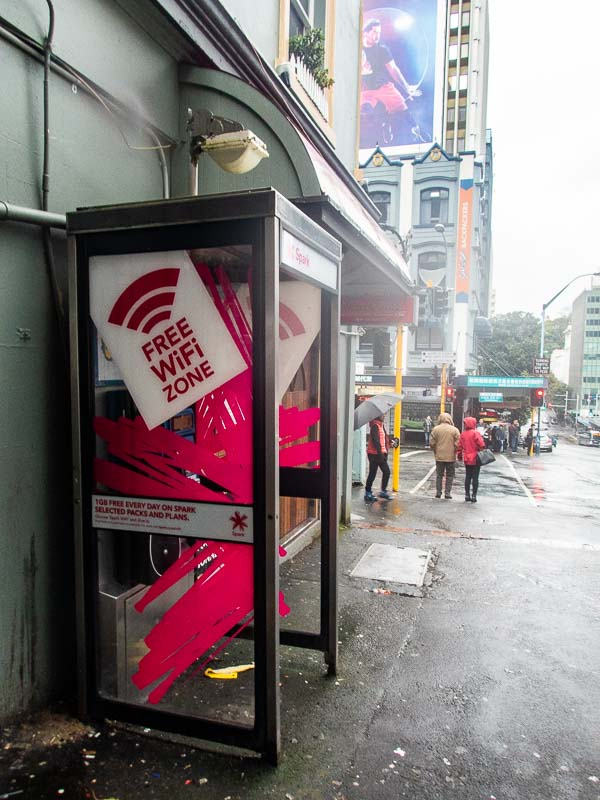 Free WiFi in Auckland City