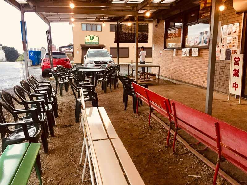中村農場 ベンチ