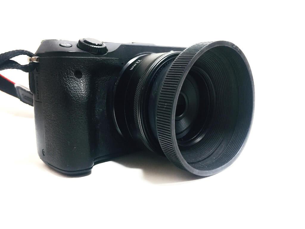 EF-M 22mm F2 ラバーフード