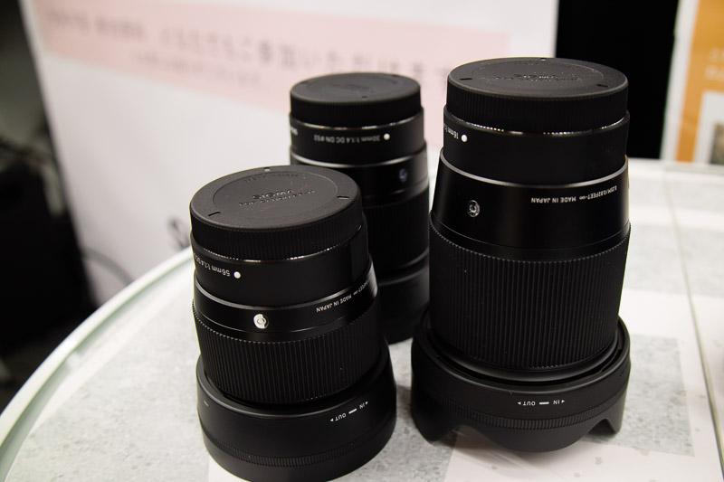 SIGMA EF-Mマウント用の単焦点レンズ