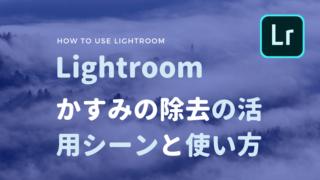 Lightroom かすみの除去
