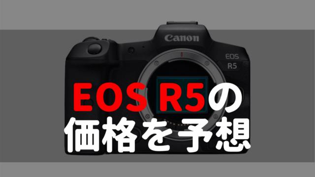 eos r5価格予想