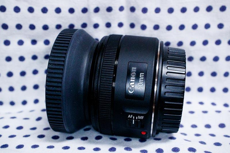 EF50mm F1.8STM レンズ