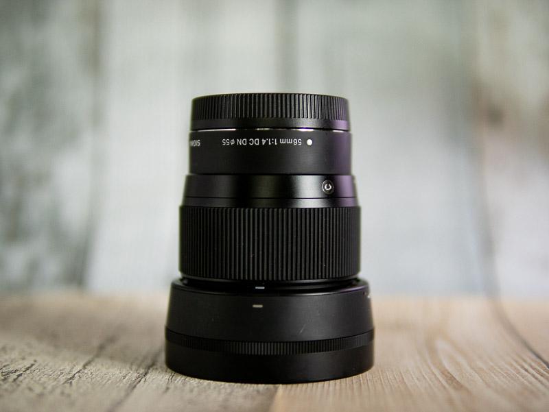 シグマ 56mm F1.4 Contemporaryレンズ(Canon EF-Mマウント用)