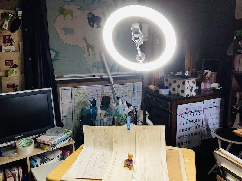 LEDライトの位置